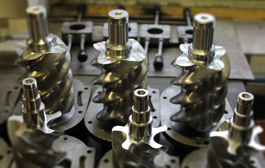 ремонт винтового безмасляного компрессора