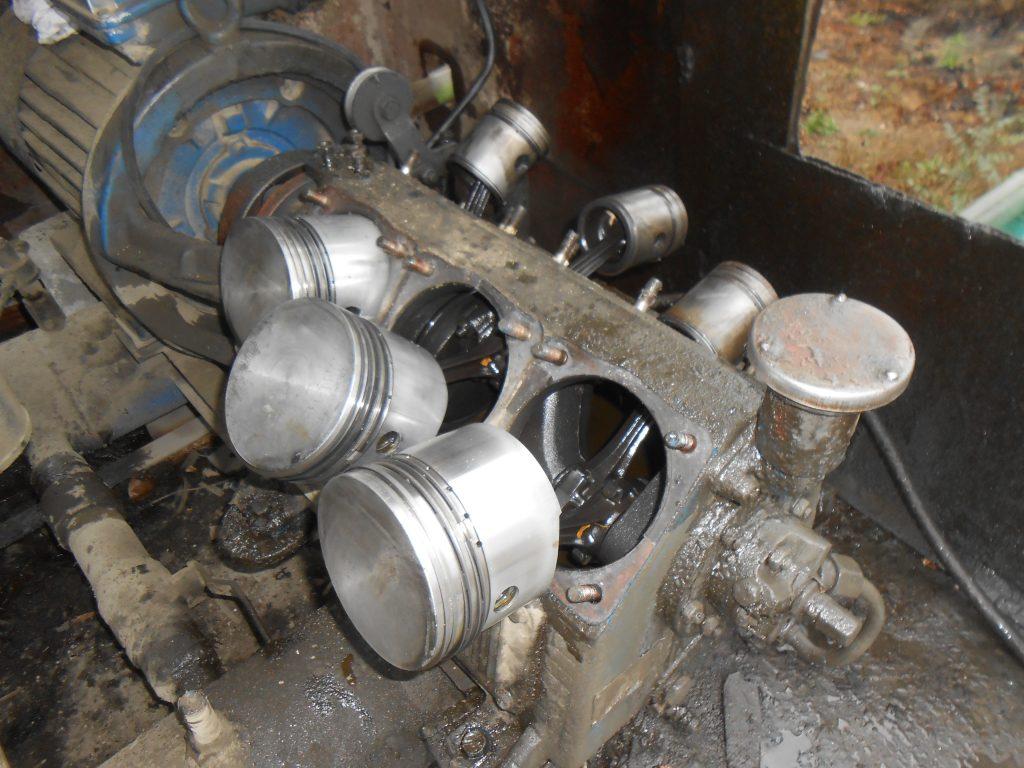 ремонт поршневого компрессора ПКС-10,5 АМ